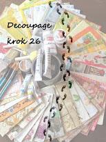 Decoupage -  lekcja 26