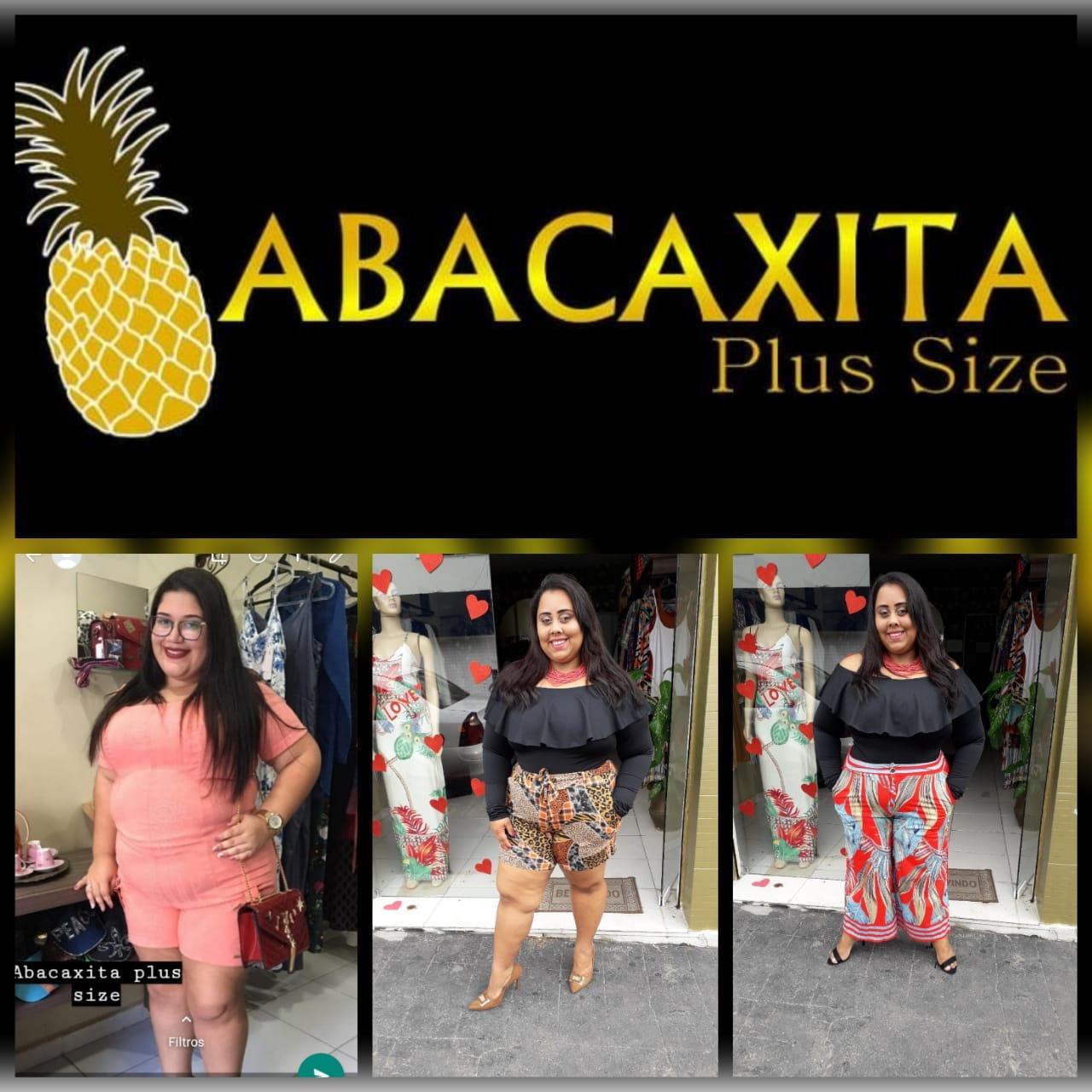 Abacaxita Plus Size - Ser linda significa ser você mesma!