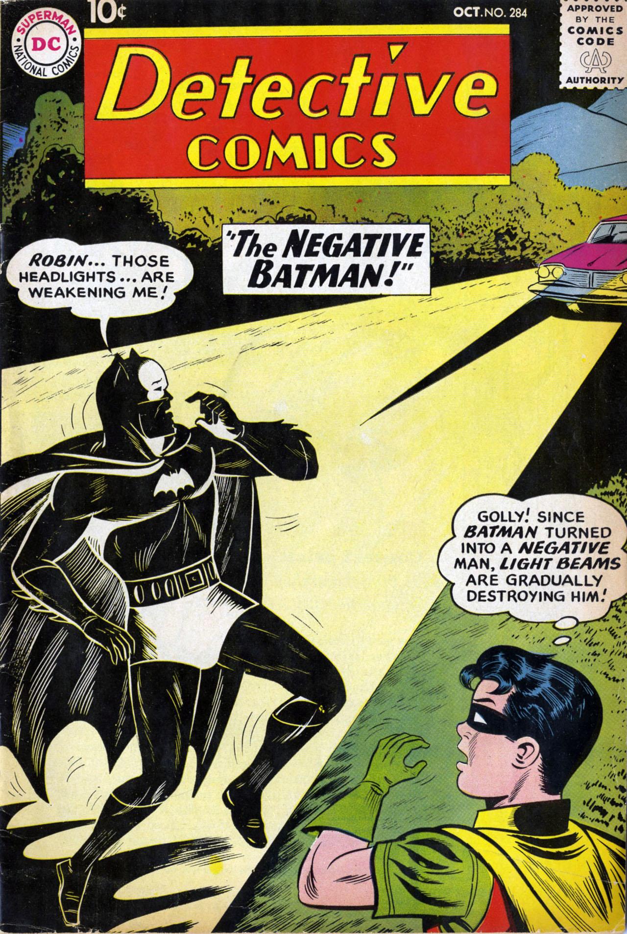 Detective Comics (1937) 284 Page 1