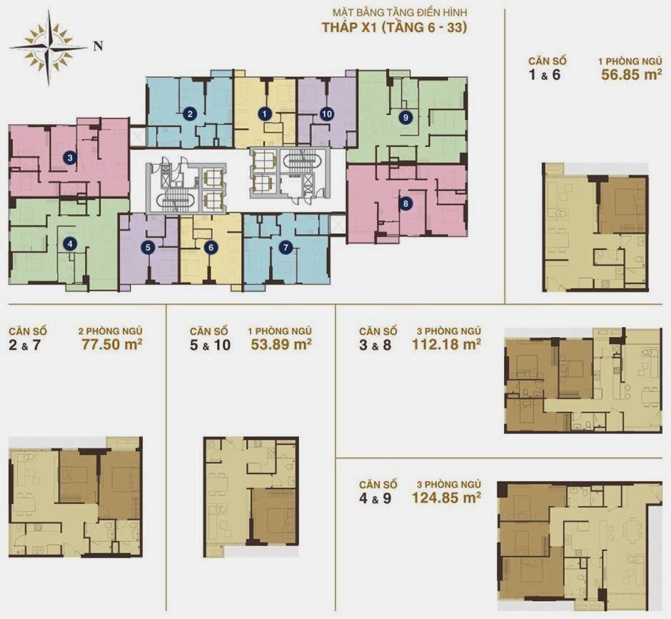 Căn hộ Sunrise City Khu South, Căn hộ Sunrise City, Căn hộ Sunrise City Quận 7