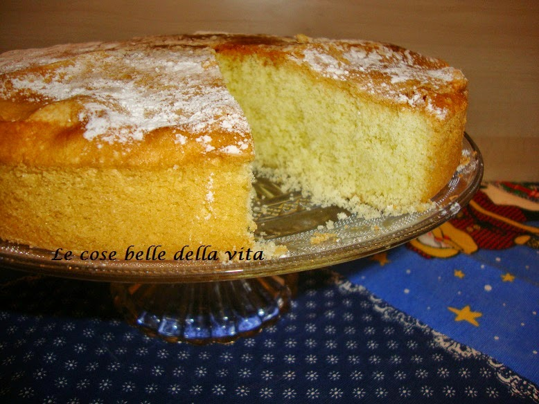 Le Cose Belle Della Vita Torta Soffice Al Limone Senza Glutine