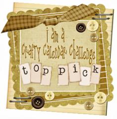 Crafty Calendar Top Pick!