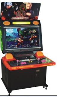 Dragon Moncks video cabinet game machine,arcade fighting game machine