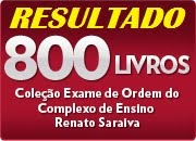 RESULTADO! 800 LIVROS DE VEZ