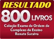 RESULTADO! 800 LIVROS DE VEZ