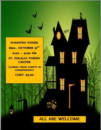 10-31 Haunted House St. Eulalia Parrish
