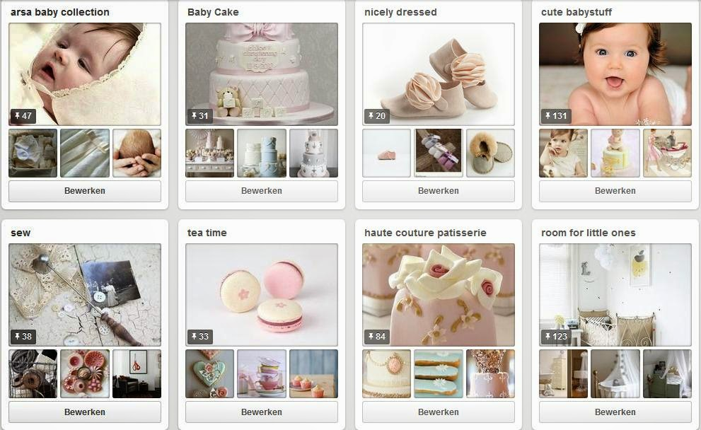 our pinterest boards