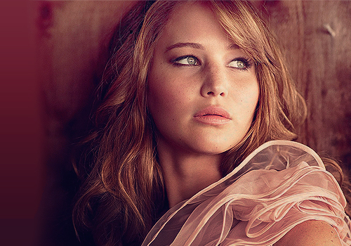 Hunger games Jennifer Lawrence for Glamour UK