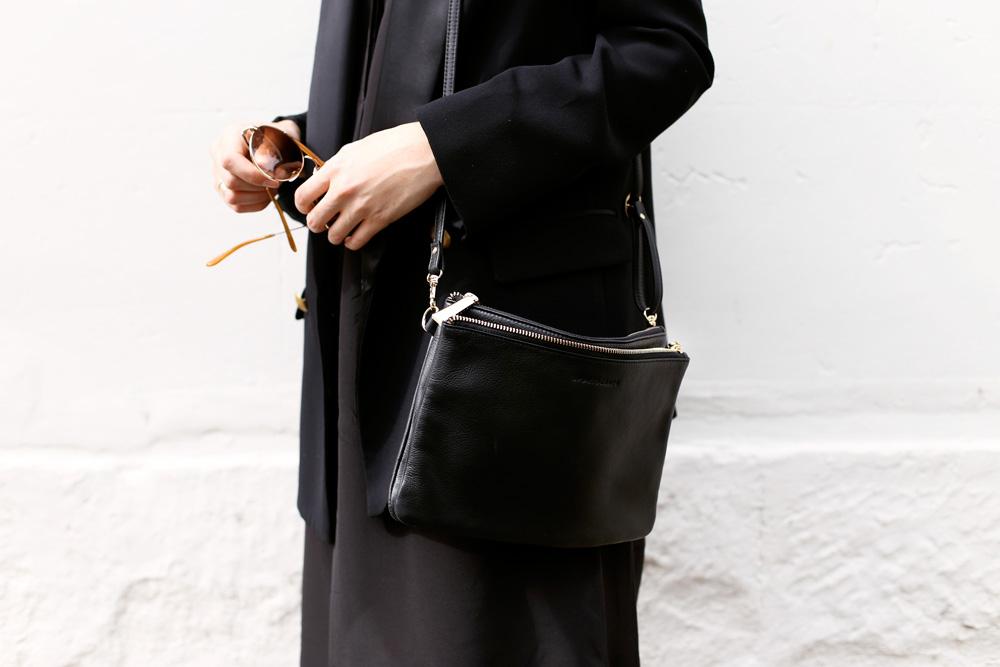 Black Sportscraft handbag