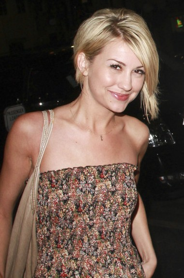 Wedding Updo Hairstyle Chelsea Kane Short Haircut Picture
