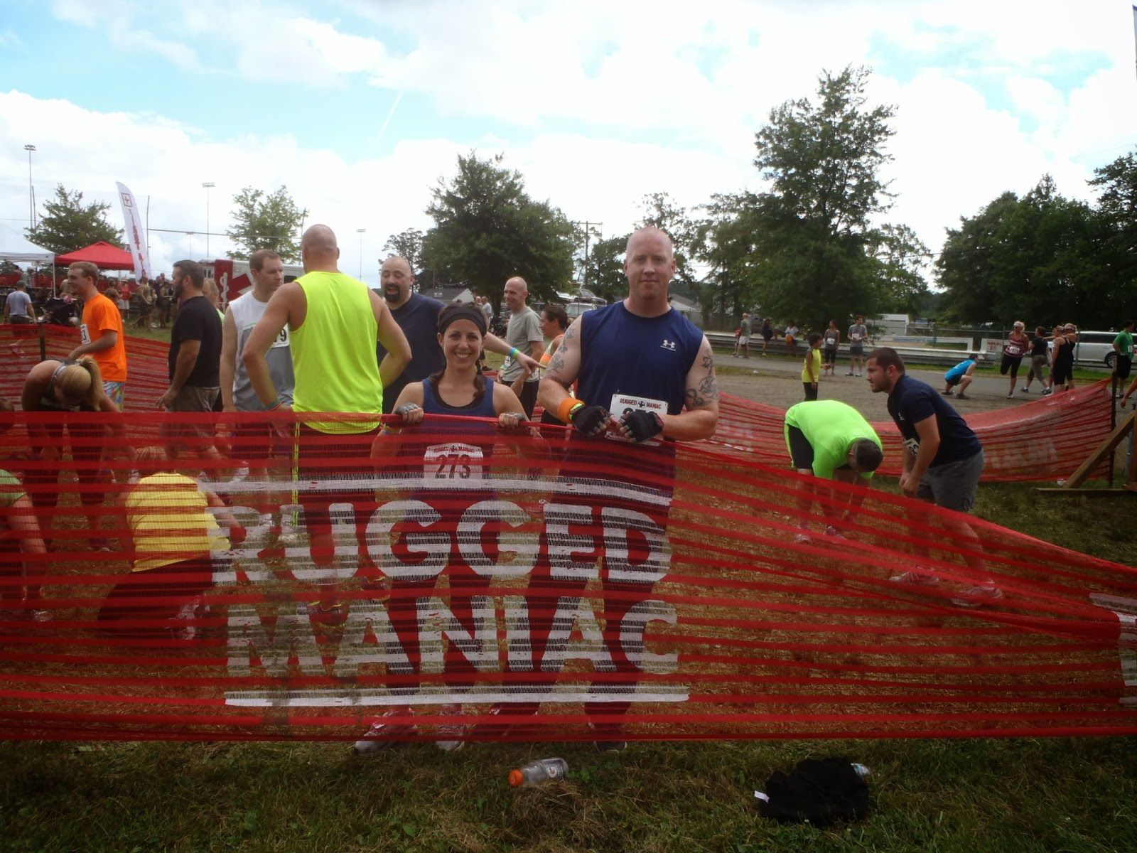 rugged maniac starting line