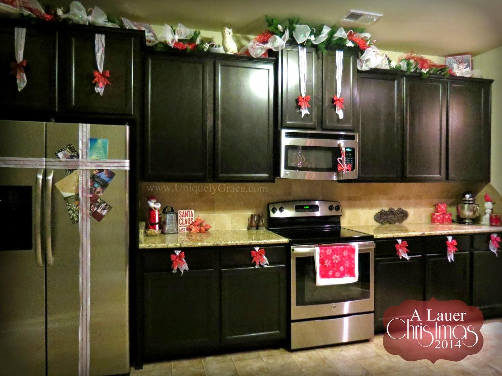 Christmas kitchen ornaments - The Kitchen