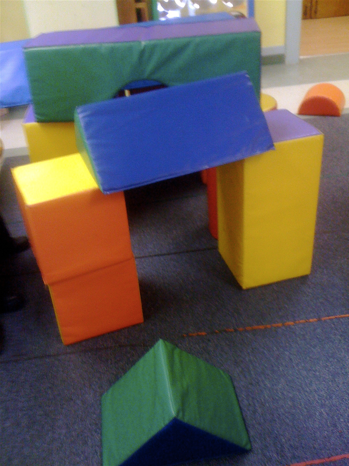 Teacher Tom Giant Foam Blocks