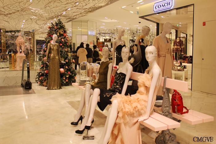 diana dazzling, fashion blogger, fashion blog,  cmgvb, como me gusta vivir bien, dazzling, luxury, Christmas, Paris, navidad, Noel, Layafette, Printemps, Dior