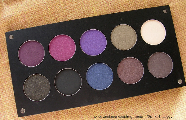 Inglot Freedom System Palette Eyeshadows Reviews Swatches