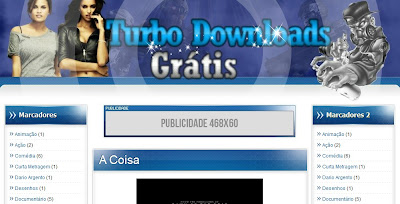Template do Turbo Downloads Gratis