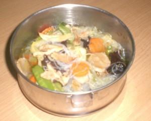 Rantang isi Sayur di katering ngawi katering harga murah