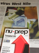 Nu-Prep 100 Freeze Dried US,EUpatent Anti-Fever 'Long jack' 4 capsule,every 4 hours-WEST NILE,US