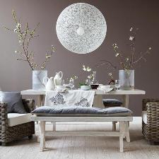 cucina bianca moderna idee tendenza : ... per la casa e l arredamento: Imbiancare casa: tendenza grigio