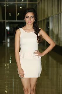 Actress Kriti Kharbanda  Picture Gallery in Short Dress at Lakshmi Raave Maa Intiki Audio Launch  040