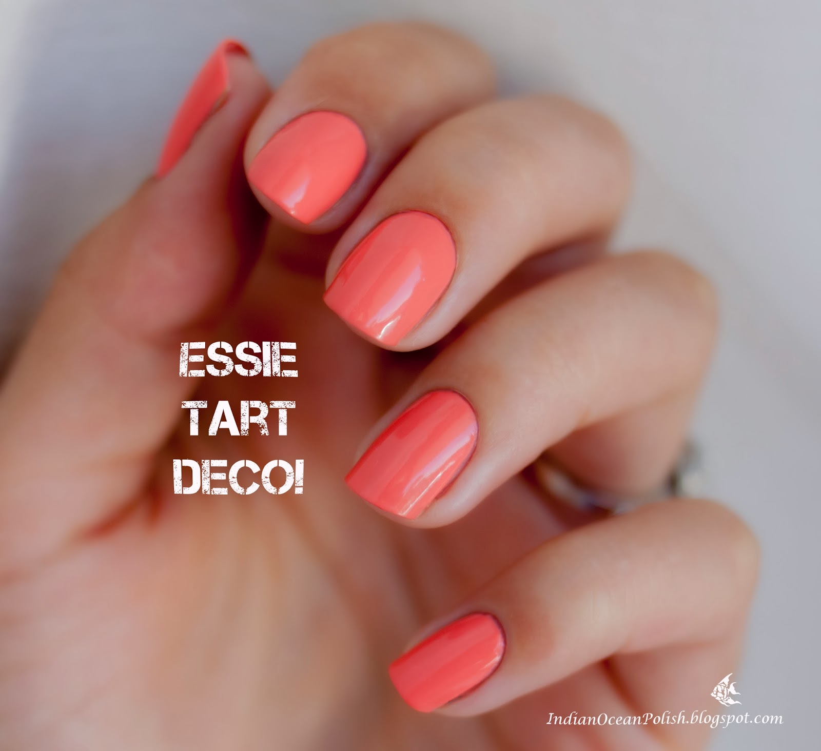 Pastel Orange Nail Polish Essie: Indian Ocean Polish: Dandelions At Sunset :