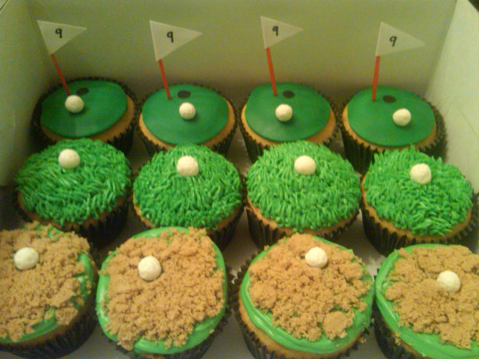 Victoria s Sweets: Golf Cupcakes