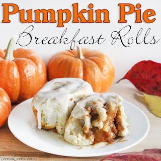 Pumpkin Pie Breakfast Rolls with Easy Icing