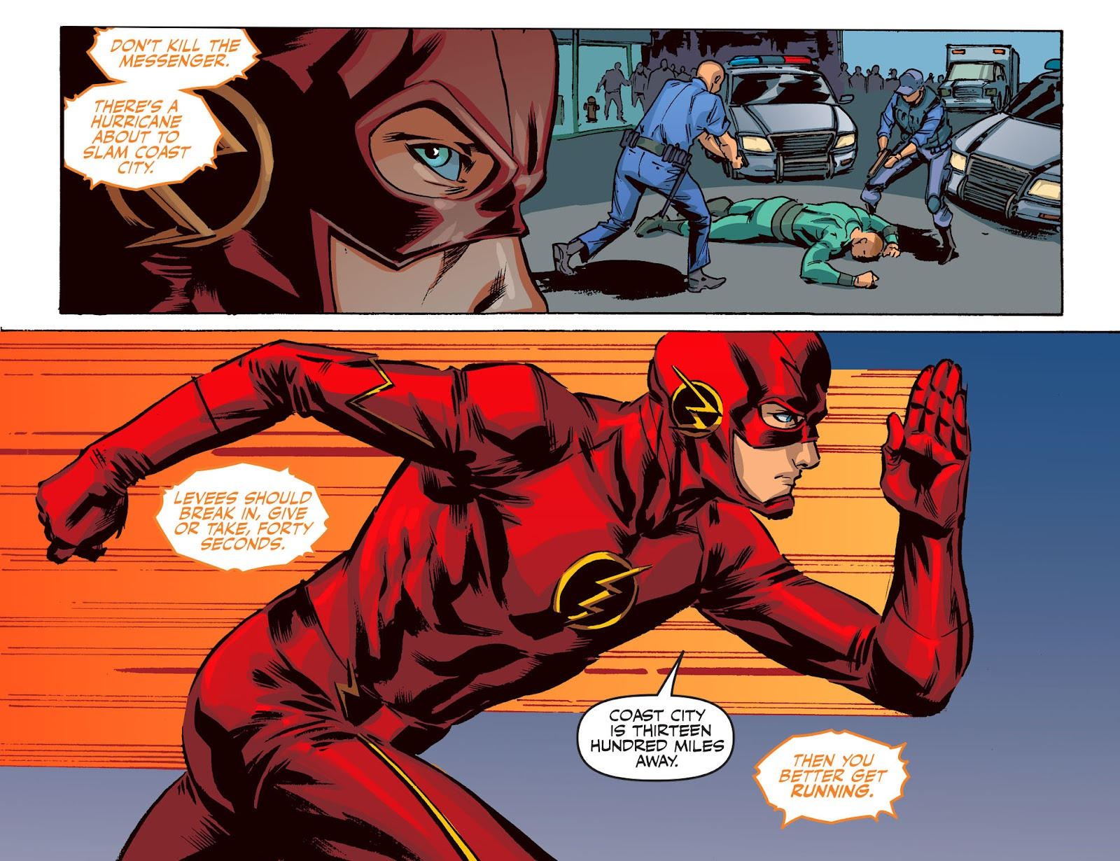 The Flash: Season Zero [I] Issue #20 #20 - English 10