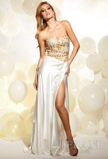Lange Kleider Prom - Terani Kollektion 2012 - 2013