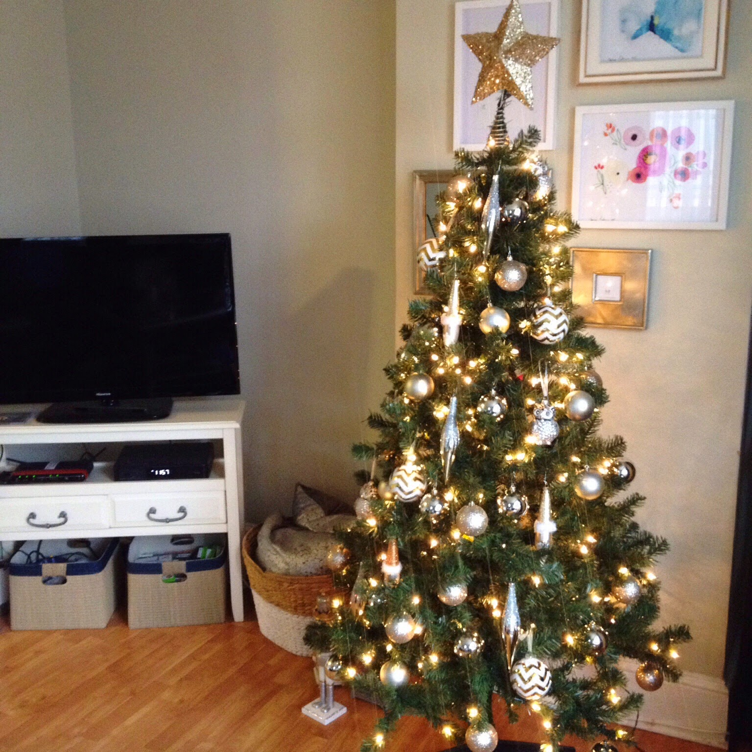 after a few nightmare experiences with live trees in small apartments this year i finally settled on a prelit fake tree from target - Small Live Christmas Trees