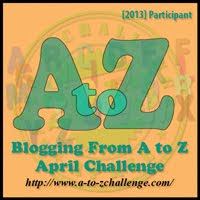 A to Z April Blogging Challenge