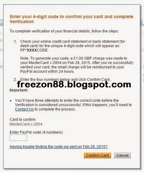 verifikasi paypal dengan payoneer
