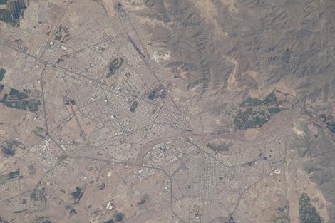 Torreón desde la Estación Espacial Internacional