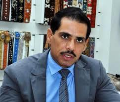 AICC president Sonia Gandhi's son-in-law Robert Vadra
