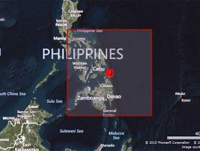 SISMO 6,1 GRADOS SACUDE FILIPINAS