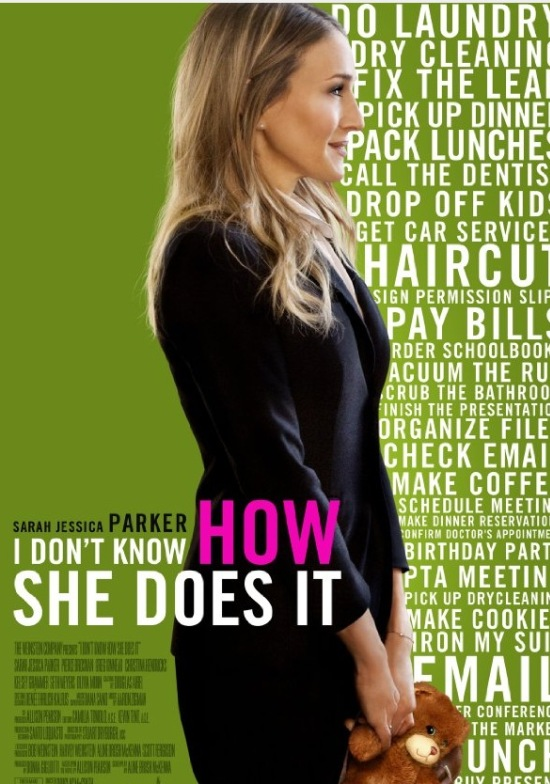 I Don't Know How She Does It movie poster download