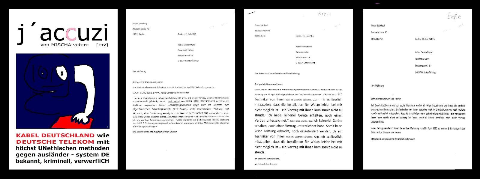 deutsche telekom genozidarbeit diebstahl urheberrecht morddrohungen mordversuch mischa vetere kabel