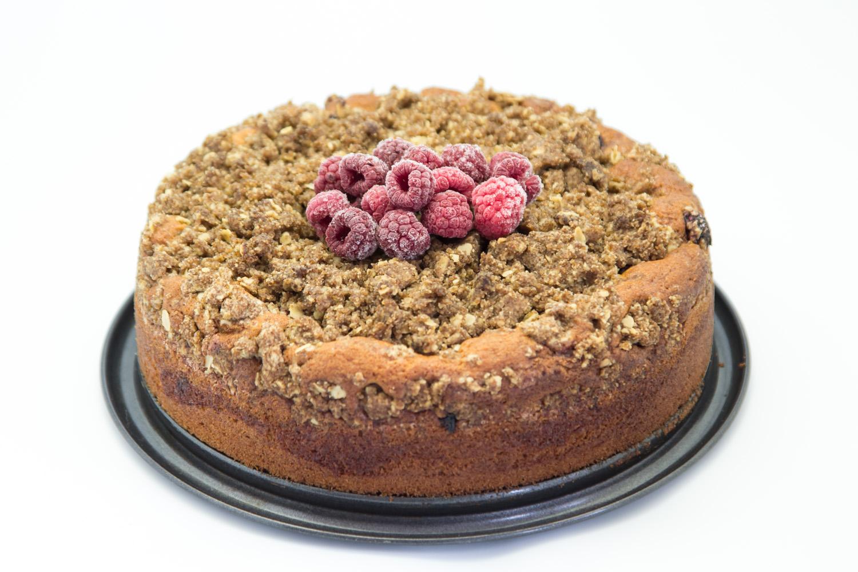 Hovkonditorn: Raspberry Crumble Cake