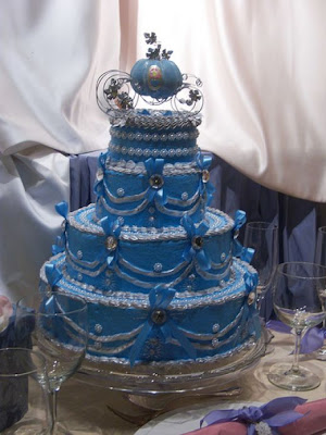 Cinderella Themed Wedding Cakes