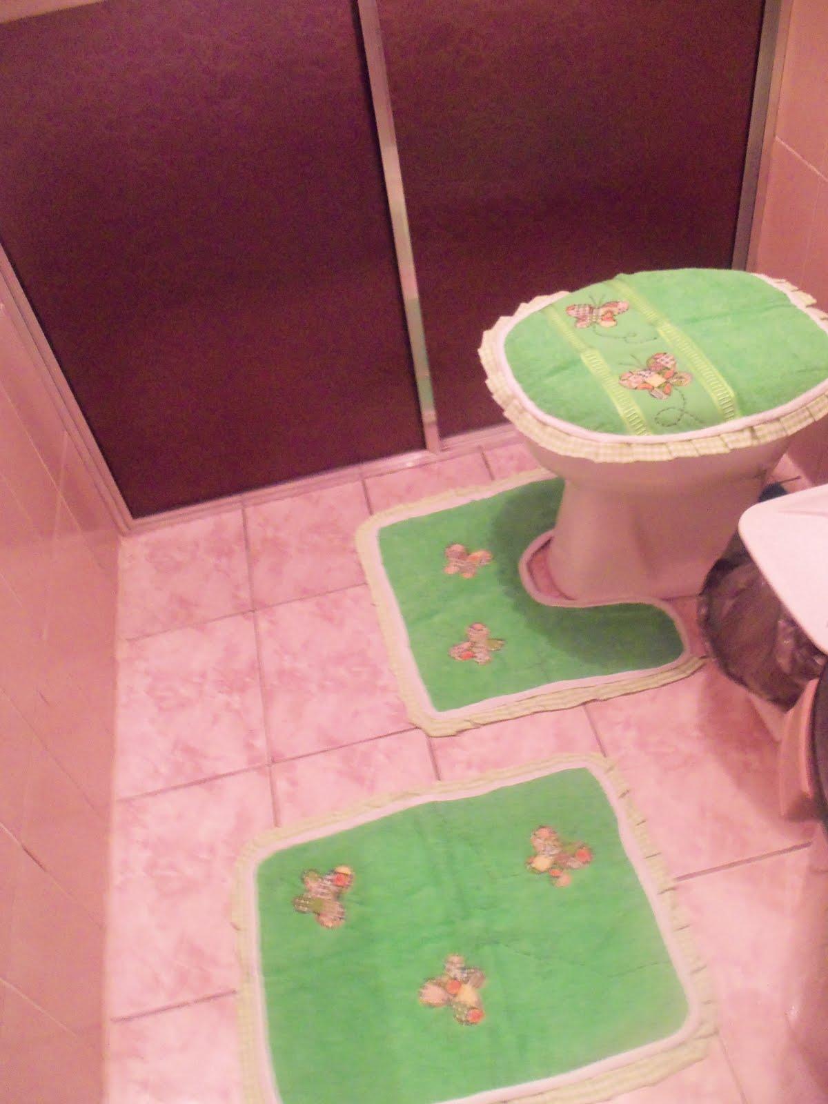 Jogo De Banheiro Completo : Lu artes e costura by luciana duarte jogo de banheiro