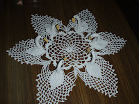 How To Crochet   CROCHET SWAN DOILY