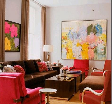 Famous Interior Designers Work eclectic style • interior design