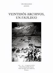 VEINTIDÓS ARCHIVOS, UN FAULDUO