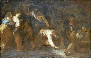 Stations of the Cross: Jesus Falls -- The Third, Seventh and Ninth Stations