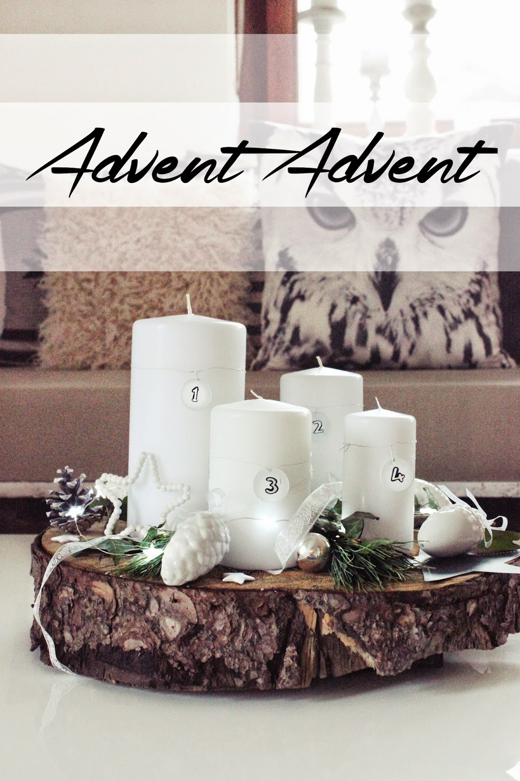 S 39 bastelkistle diy simpler adventskranz - Pinterest advent ...