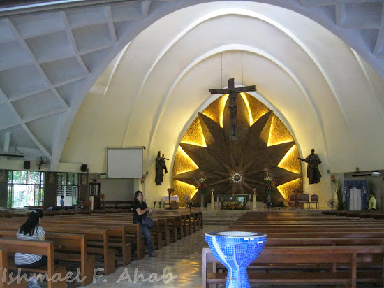 Interior of Don Bosco Church