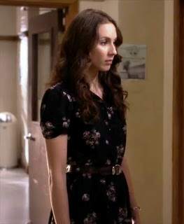 "Spencer's Urban Outfitters Kimchi Blue Winnie Western Shirt Dress Pretty Little Liars Season 4, Episode 9: ""Into the Deep"""