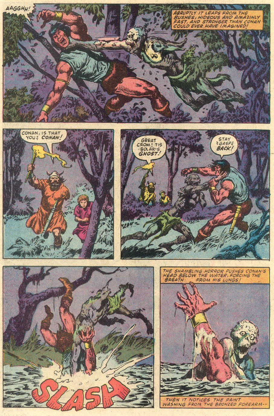 Conan the Barbarian (1970) Issue #149 #161 - English 19