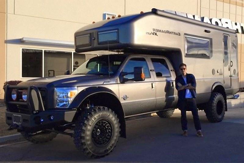 John Mayer Just Bought Ford EarthRoamer XV LTS