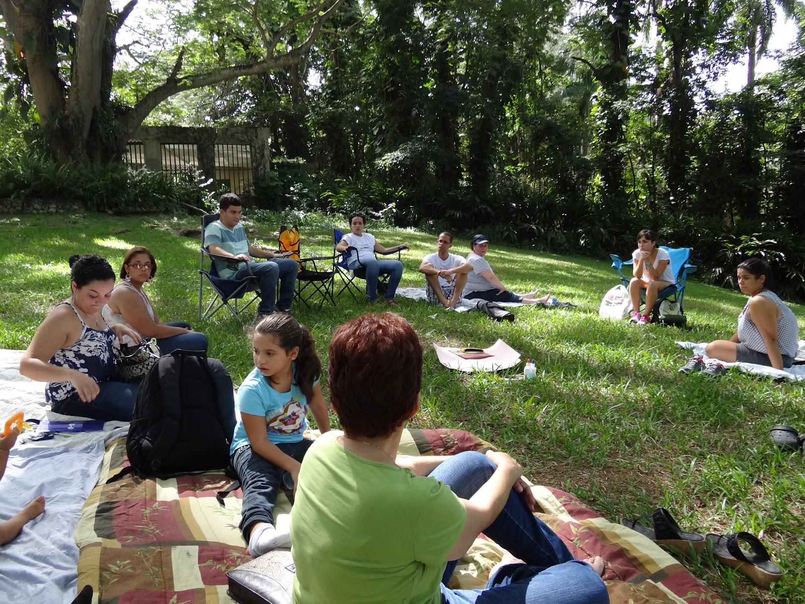 Con santa rosa pa brasil conociendo nuestra fe taller for Talleres jardin botanico